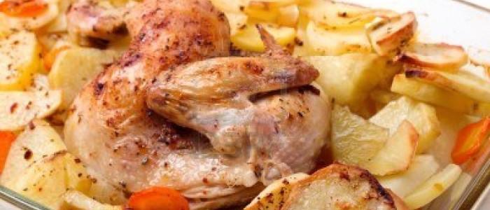 Video Tutorial: Pollo al forno con patate e aromi